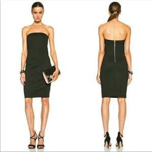 NWOT HELMUT LANG Minimalist Strapless Dress P